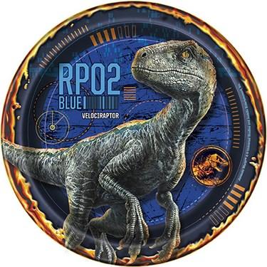 """Jurassic World 2 7"""" Dessert plate (8)"""