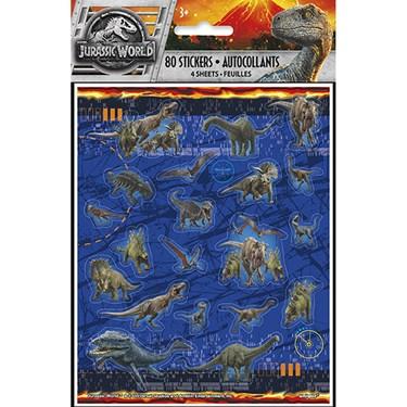 Jurassic World 2 Sticker Sheet