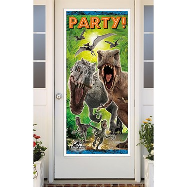 Jurassic World Door Cover