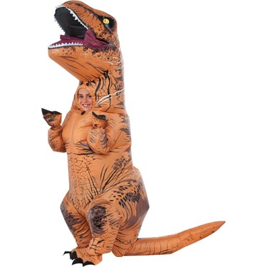Jurassic World: Kids Inflatable T-Rex Cosutme
