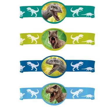 Jurassic World Rubber Bracelets (4)