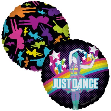 Just Dance Foil Balloon