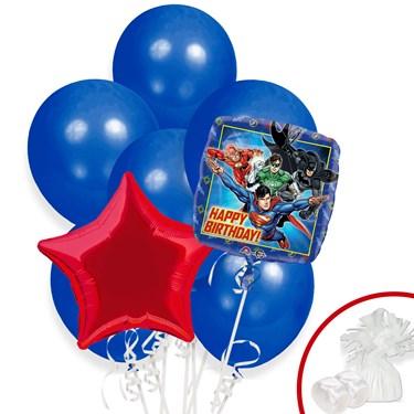 Justice League Balloon Bouquet