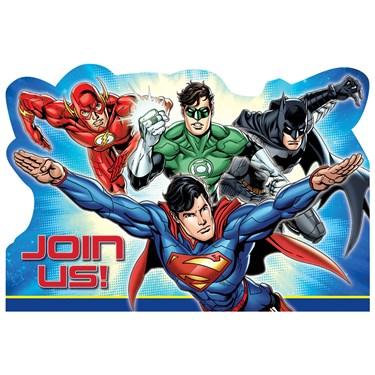 Justice League Invitations (8)