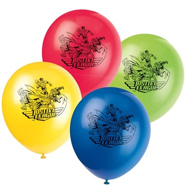 Justice League Latex Balloons(8)