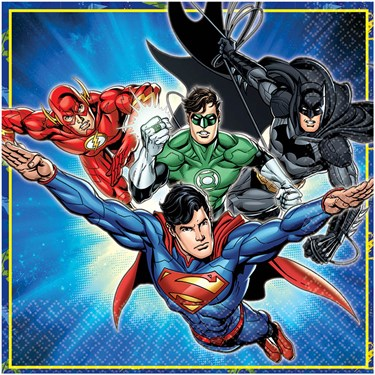 Justice League Lunch Napkins (16)