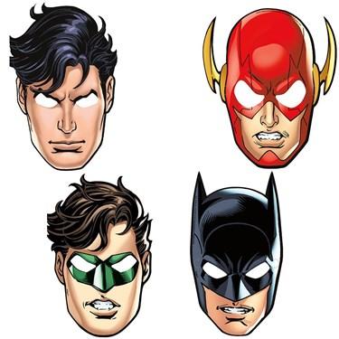 Justice League Party Masks(8)
