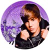 Justin Bieber Dinner Plates