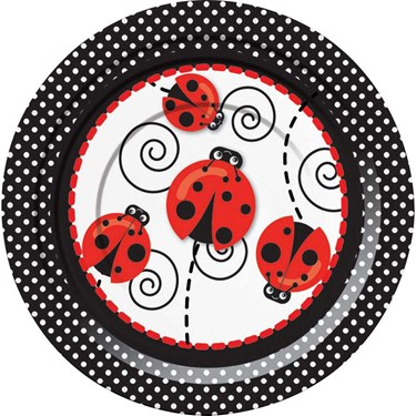 Ladybug 7 Cake Plates (8)