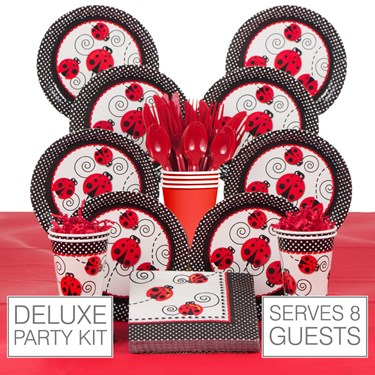 Ladybug 8 Guest Party Pack