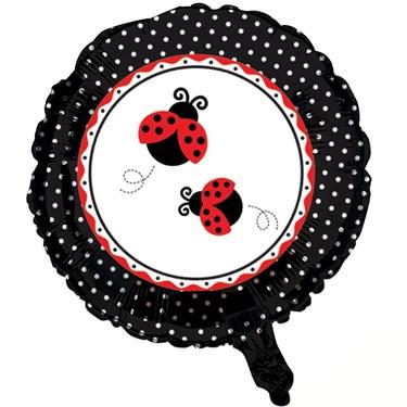 LadyBug Fancy Foil Balloon