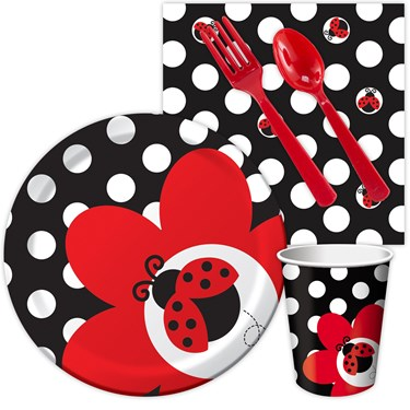 Ladybug Fancy Snack Party Pack