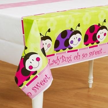 Ladybug Plastic Tablecover