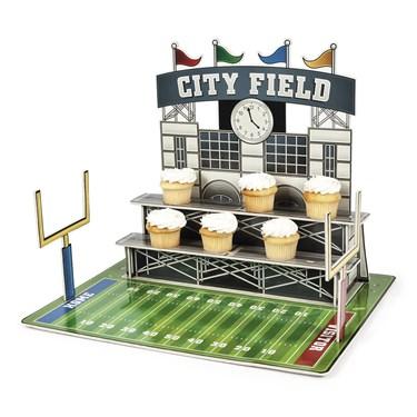 Large Football Stadium Cupcake Holder(1)