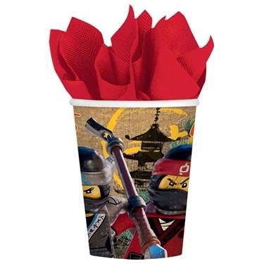 Lego Ninjago 9 oz. Paper Cup (8)