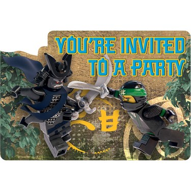 Lego Ninjago Invitations (8)