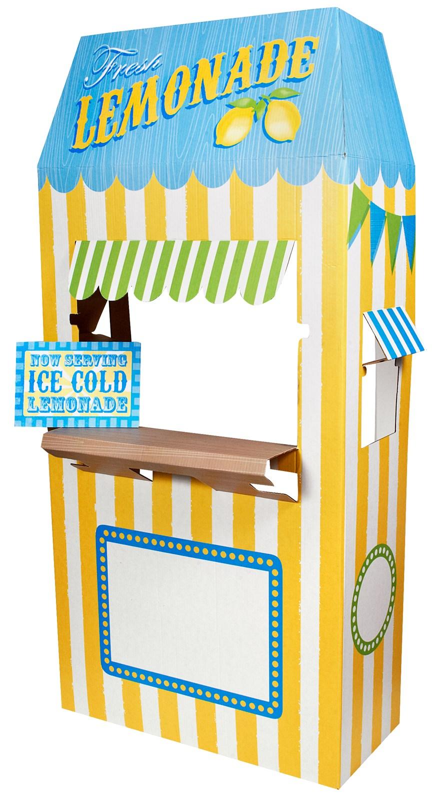Lemonade Cardboard Stand - 6' Tall | BirthdayExpress.com