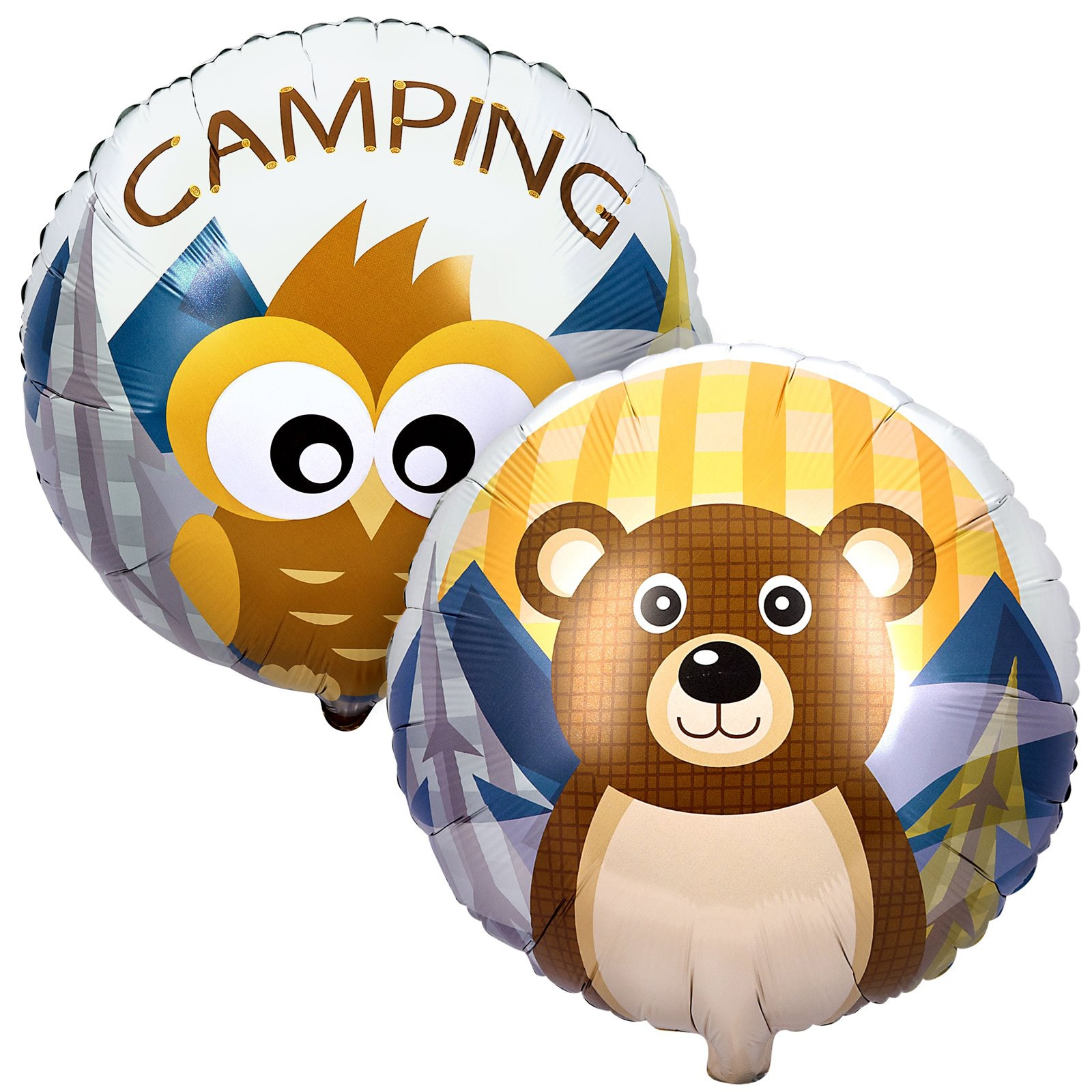 Let's Go Camping Foil Balloon