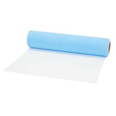 "Light Blue Tulle Roll (12""H)"