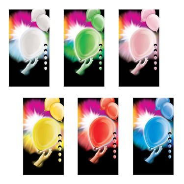 Light Up Led 12 Balloons (5 Pack)