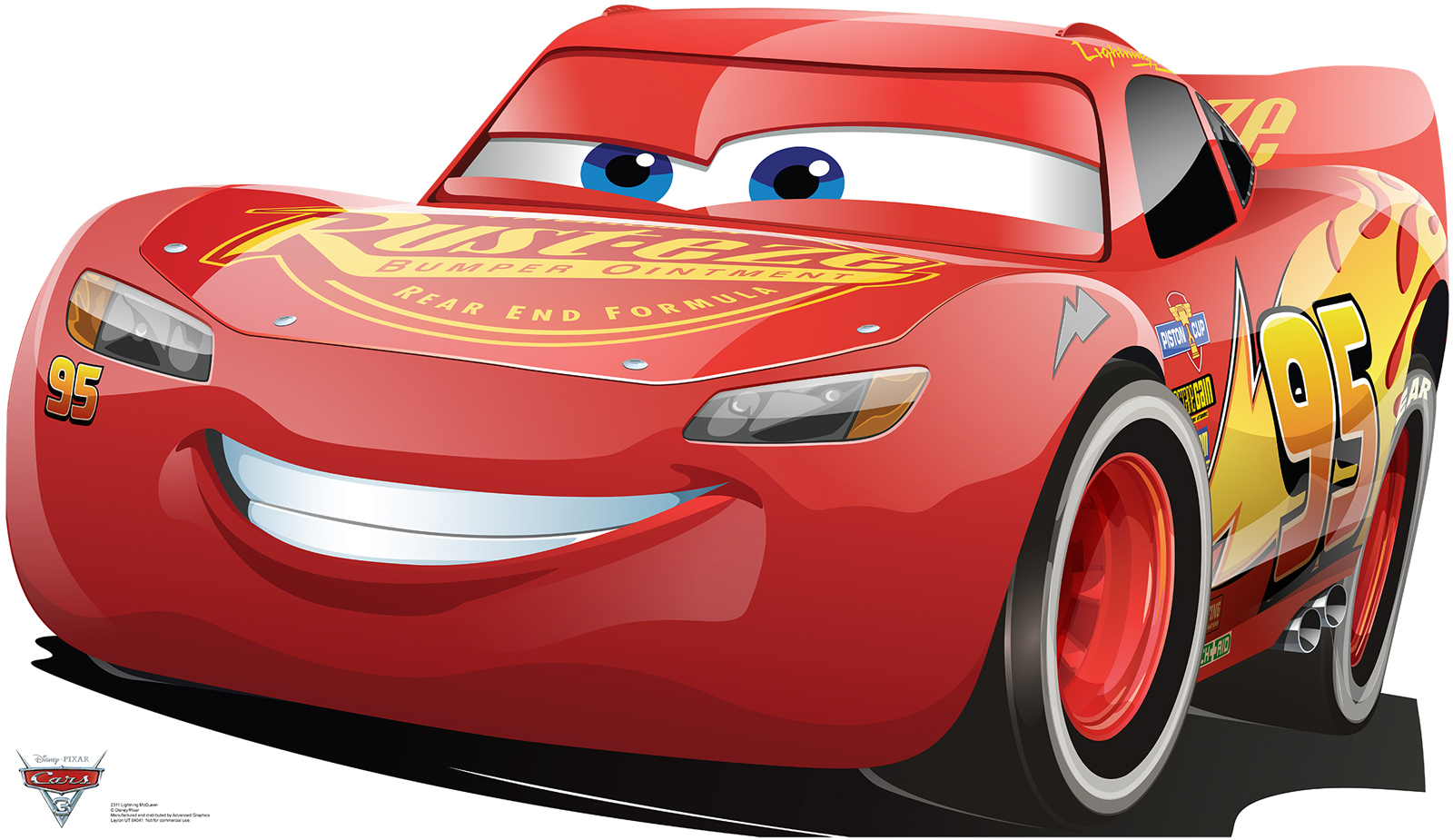 Default Image   Lightning McQueen   Cars 3 Stand In
