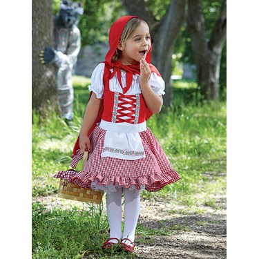 Lil' Miss Red Toddler / Child Costume