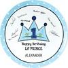 Lil' Prince 1st Birthday Signature Plate