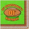 Lil' Quarterback 1st Birthday Lunch Napkins