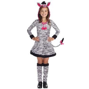 Lil' Wild Thang Zebra Child Costume