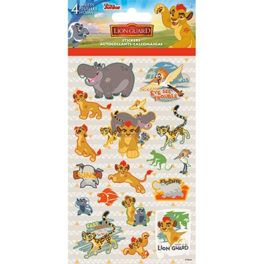 Lion Guard Stickers (4 Sheets)