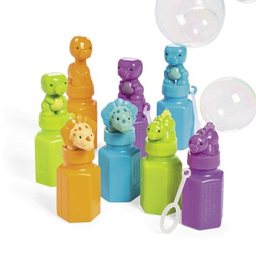 Little Dino Bubble Bottles(12)