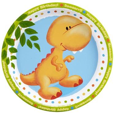 Little Dino Dinner Plates