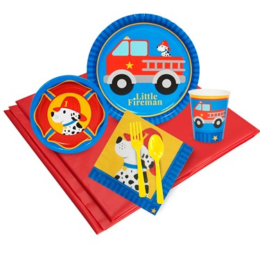 Little Fireman Party Pack