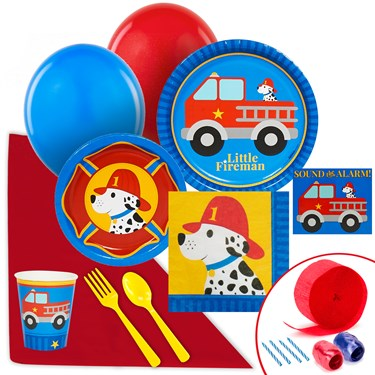 Little Fireman Value Party Pack