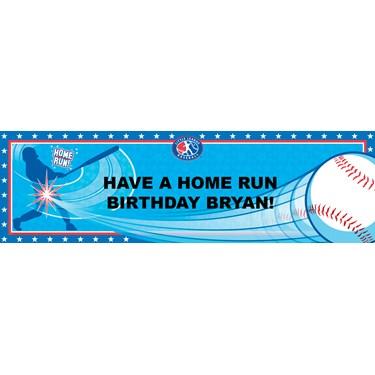 Little League Baseball Personalized Vinyl Banner