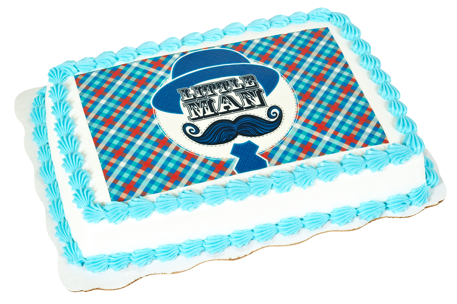 Little Man Mustache Edible Icing Cake Topper BirthdayExpresscom
