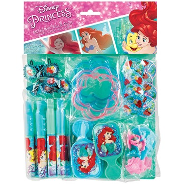 Little Mermaid Mega Mix Favor Pack (80)