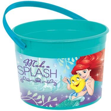 Little Mermaid Plastic Favor Container