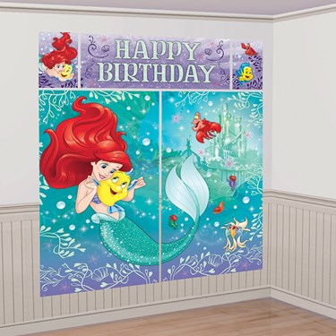Little Mermaid Scene Setter Wall Decor