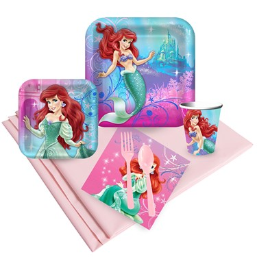 Little Mermaid Sparkle Party Pack for 24
