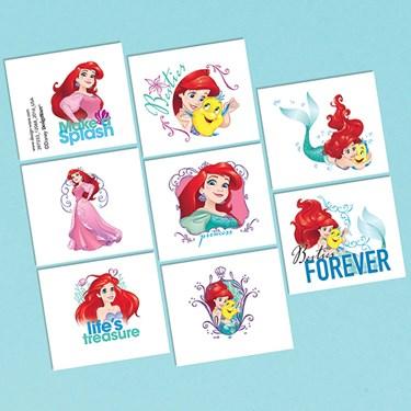 Little Mermaid Tattoo Favors (16 Pack)