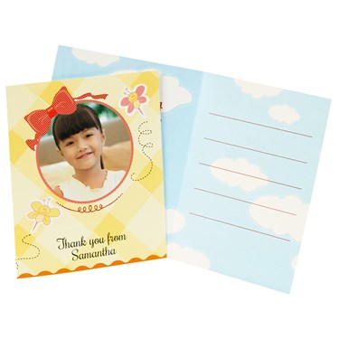 Little Sunshine Personalized Thank-You Notes (8)