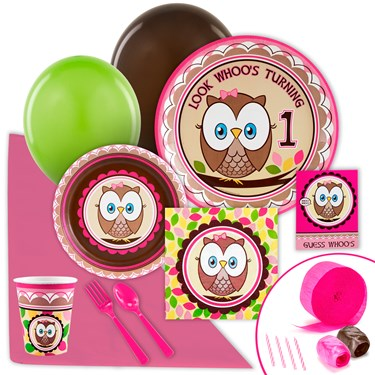 Look Whoo's 1 Pink Value Party Pack