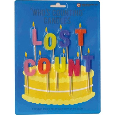 Lost Count Pick Candles Set (1)