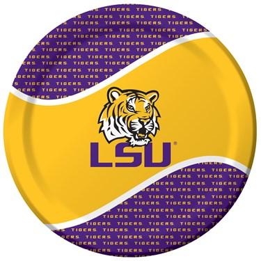 Louisiana State Tigers (LSU) Dinner Plates