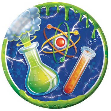 Mad Scientist Dessert Plates (8)
