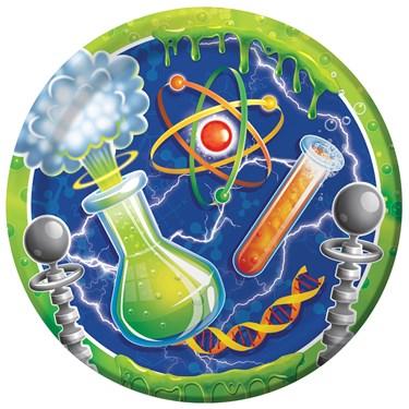 Mad Scientist Dinner Plates (8)