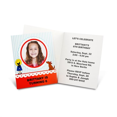 Madeline Personalized Invitations (8)