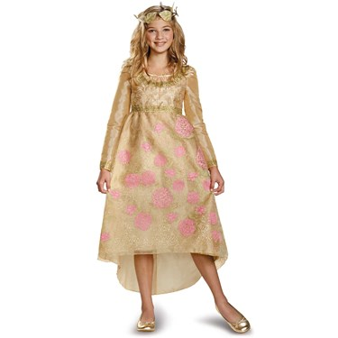 Maleficent - Aurora Coronation Deluxe Girls Costume