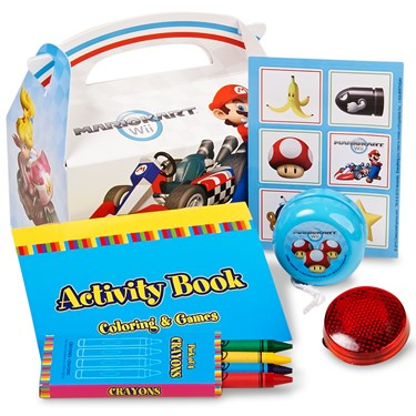 Mario Kart Favor Box (4-Pack)